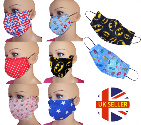 100% Cotton Reusable Mask
